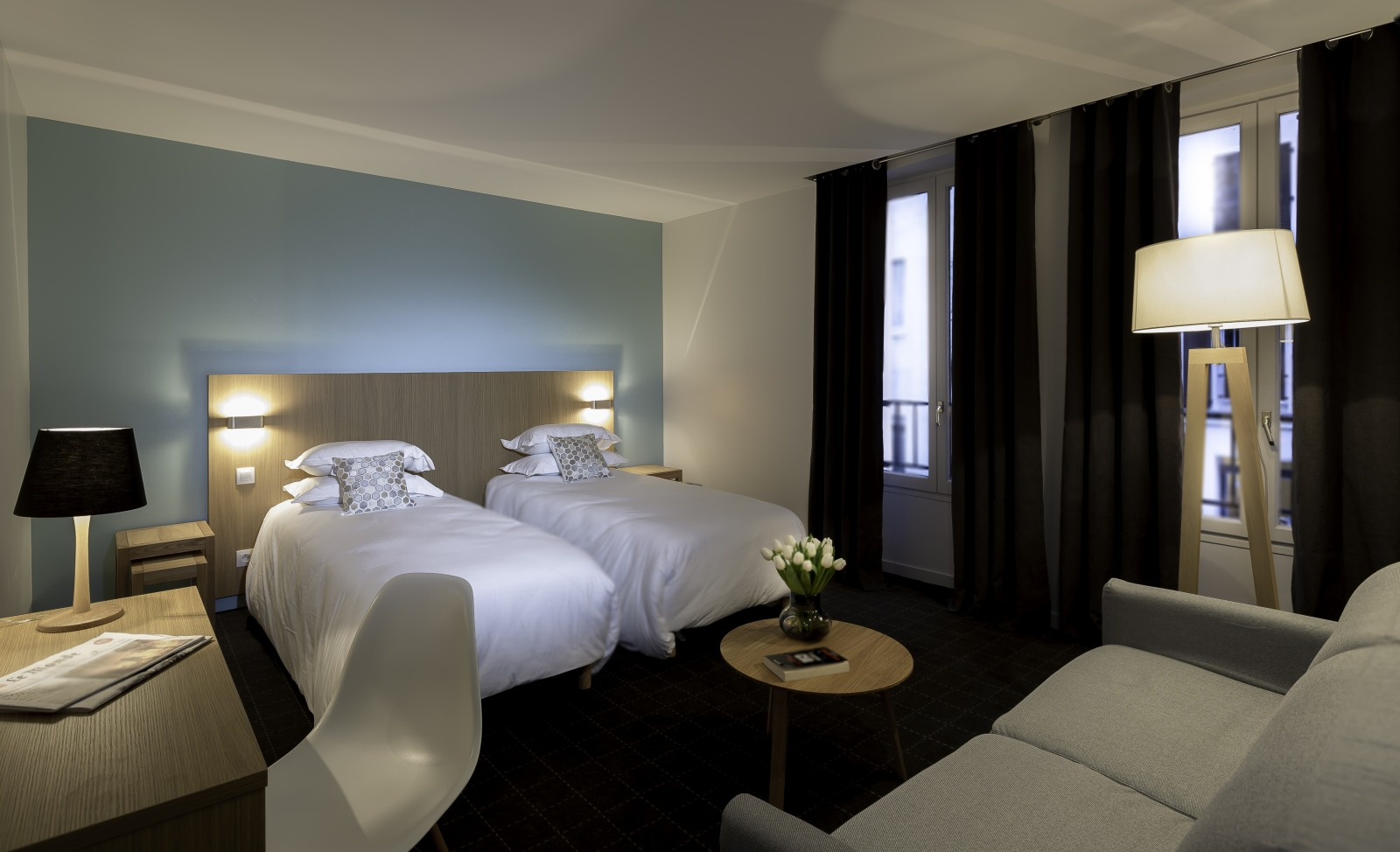 Hotel mirabeau eiffel site officiel hotels paris for Agence reservation hotel